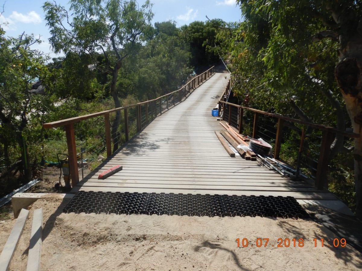 Wilson Villa Access Road – Lizard Island