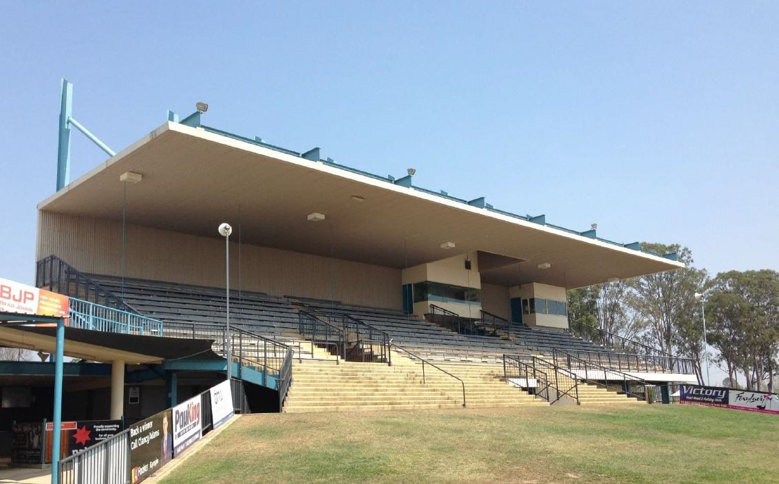 Gympie Showgrounds Grandstand